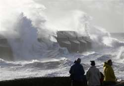 uk europe battered by storm 13 dead thousands left without