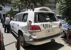 un vehicle fired upon in pakistan foreign doctor injured