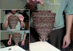 us man stacks 3 108 coins on a single dime