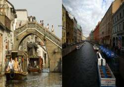 watch in pics fake venice around the world