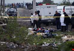 49 bodies left on mexico highway