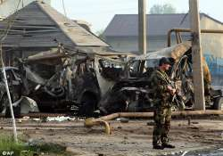 13 dead scores wounded in blasts in russia