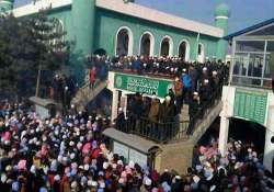 14 killed in a deadly stampede at china mosque