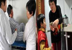 60 year old woman gives birth to twins in china