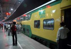 ac double decker train for jaipur to be flagged off on aug