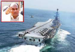 antony to spend night on ins viraat during wargames