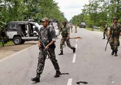 army deployed in two assam towns