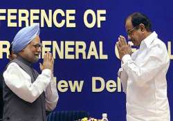 bjp says pm chidambaram speaking in different voices