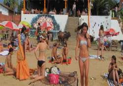 ban bikinis in public places insists goa pwd minister