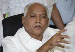 bangalore police issue notice to yeddyurappa to end dharna