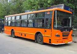 contractual drivers conductors of dtc go on strike