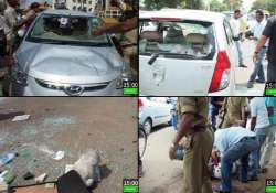 court employee injured in firing near dhoni s house