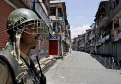 curfew like restrictions imposed in parts of srinagar