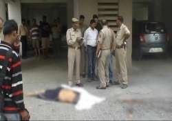 dairy trader jumps to death from 8th floor of vaishali