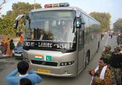 delhi lahore bus makes emergency stop at ambala