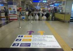 delhi metro closes two more stations anticipating protests