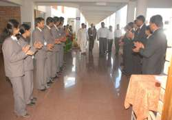 engg college comes up on army s firing range field in