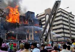 fire guts several shops in hyderabad shopping complex