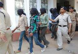 five held for suspected simi links