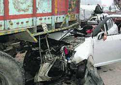 five youths die in haryana ram car into stationary truck