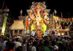 ganesh chaturthi begins in hyderabad with gaiety