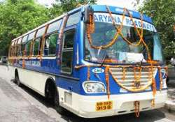 haryana to connect state towns via volvo merc bus service