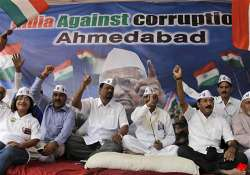hazare supporters stage protests