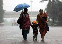 heavy rains lash mumbai cr trains running late