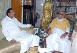 humiliation by chidambaram was the last straw for dmk