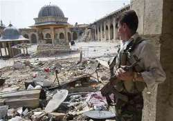 india offers 1 mn aid to destroy syria s weapons