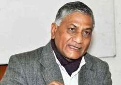 hajj stampede vk singh heads to saudi arabia for helping