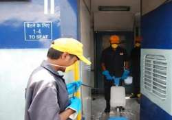 delhi division of railways armed with 10k brooms for