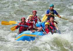 rafting in rishikesh an adventure turning into a watery