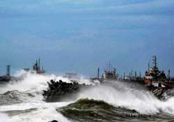 vizag port suffered loss of rs 232 cr in cyclone hudhud