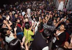 jnu students take out victory march- India Tv