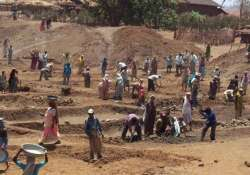mgnrega workdays increased from 100 to 150 in drought