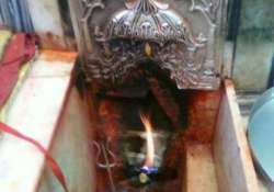 durga temple where holy flame is burning for last 101 years