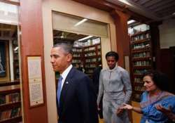 obama visits mani bhavan says gandhi a hero for entire world