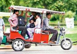 study recommends treating e rickshaw as motor vehicles