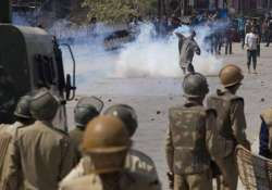 clashes in kashmir internet blackout across state