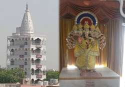 know about the amazing seven storey temple in west delhi