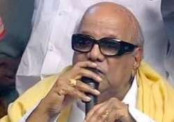 dmk solidly backs raja slams opposition