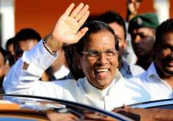 india expects substantial talks during sirisena s visit