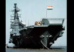 dismantling of iconic warship ins vikrant begins