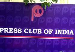press club of india gets new president