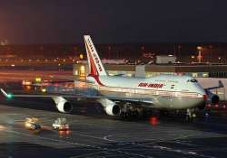 air india flight averts mishap after a flyer opens the door