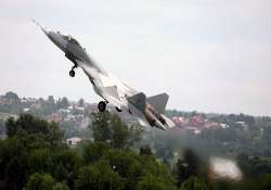 india commits 6 bn for developing stealth jet with russia