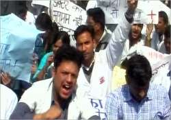 kanpur doctors refuse to come out of jail on bail strike