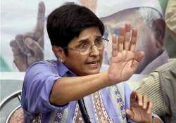 kiran bedi says she has sound evidence to come clean