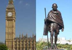 mahatma s statue to be installed in london s parliament